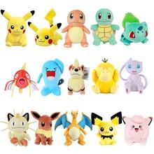 Pokemoned Pikachus plush doll Bulbasaur Squirtle Charmander Charizard Eevee Snorlax Jigglypuff Psydu