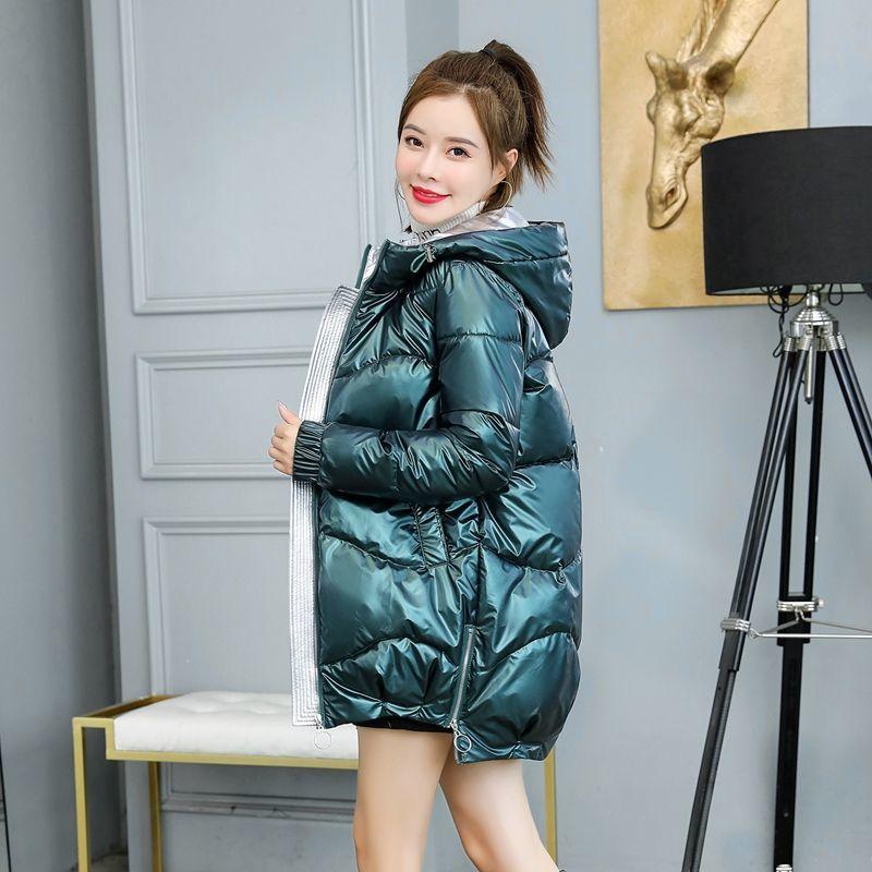 Parka Women New Winter Down jacket Women Coat Long Hooded Outwear Female Parka Thick Cotton Padded F