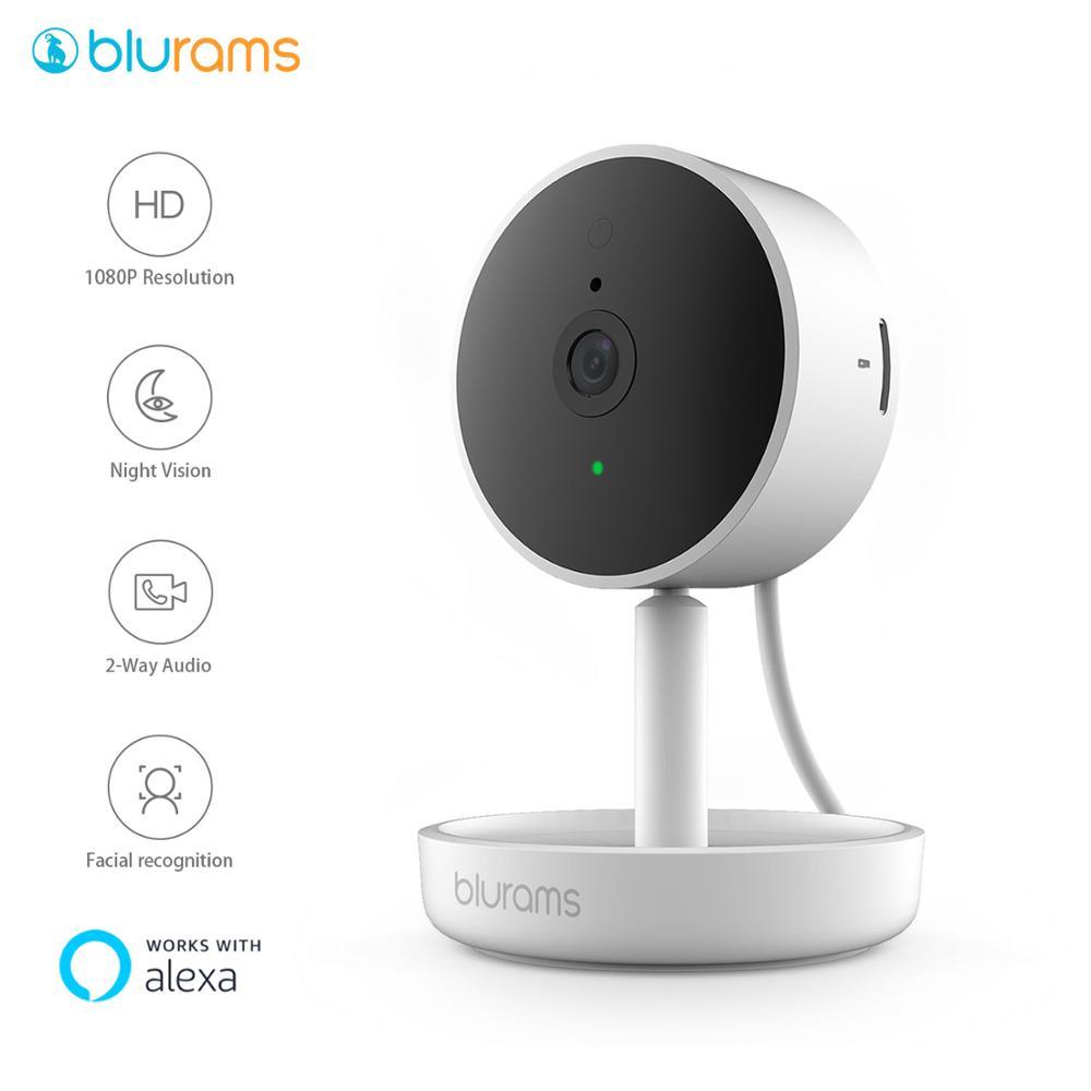 Blurams Home Pro, камера безопасности 1080p FHD AI распознавание лица беспроводная веб-камера WIFI CCTV система видеонаблюдения IP-камера