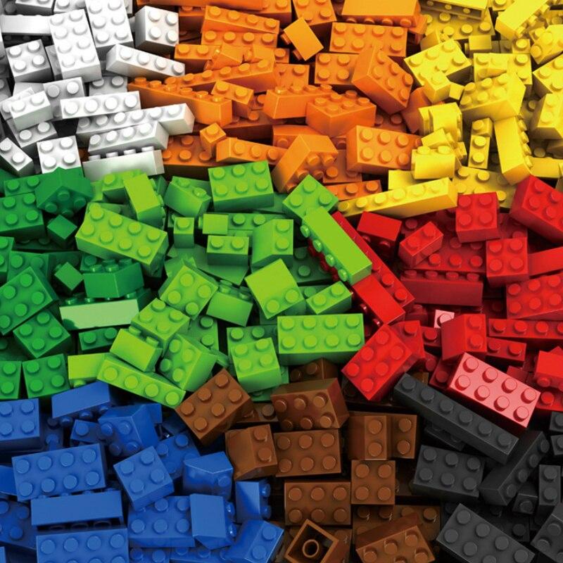 Diy criativo clássico blocos de construção 250-1000 peças de blocos de construção para criar crianças educacional menino e menina brinquedos presentes