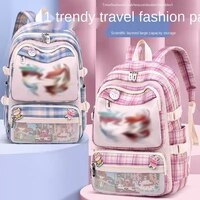 primary school student bag female cartoon cute children backpacks 9 14years old junior high casual backpack
