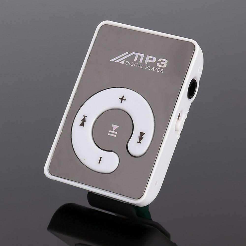 Hot Selling Mirror Clip USB Digital Mp3 Music Player Support Up 8GB SD TF Card USB enlarge