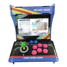"""10 """"LCD Mini Acryl Kast Arcade game Machine Heroes 5 Pandora 9H 2199 in 1 console met Joystick knoppen plug en play"""