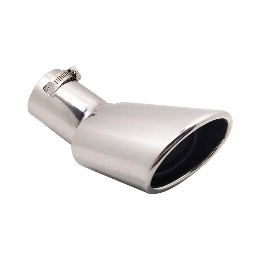 Tubo de escape trasero de coche, accesorios de diámetro de 2,36 pulgadas para Changan Ford Ecosport SUV, silenciadores de acero inoxidable para válvula de escape