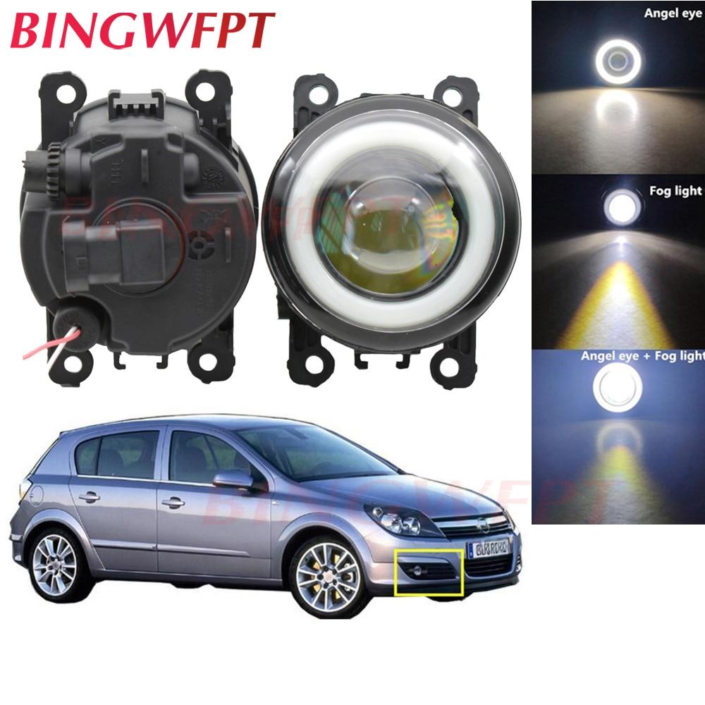 Luz LED antiniebla H11 con ojo de ángel para Opel Astra H GTC Hatchback 2005-2010, para OPEL ASTRA G Estate, 1 par (F35 _)