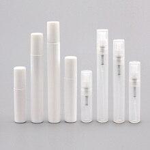 5 pièces Portable Mini bouteille de parfum en plastique cosmétiques vide bouteille vaporisateur nébuliseur 2ml 3ml 4ml 5ml voyage atomiseur flacons