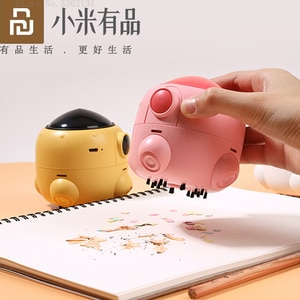 Xiaomi 3Life Portable Mini Rocket Desktop Cleaner Cute Desk Vacuum Cleaner 360 Degrees Rising Wind Direction Cleaning Smart Home
