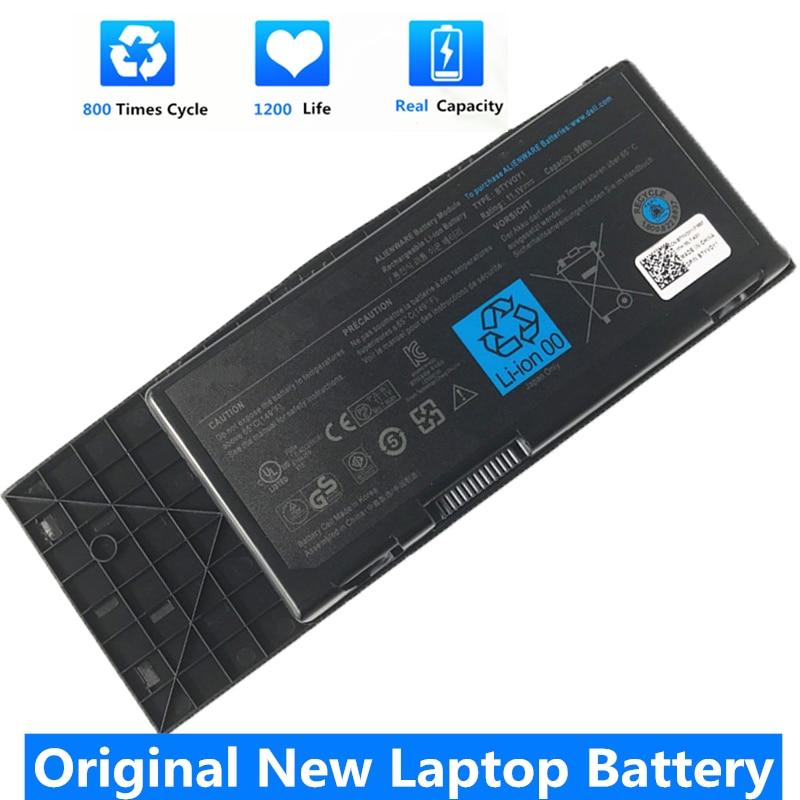 CSMHY nuevo genuino BTYVOY1 batería del ordenador portátil para Dell Alienware M17X...
