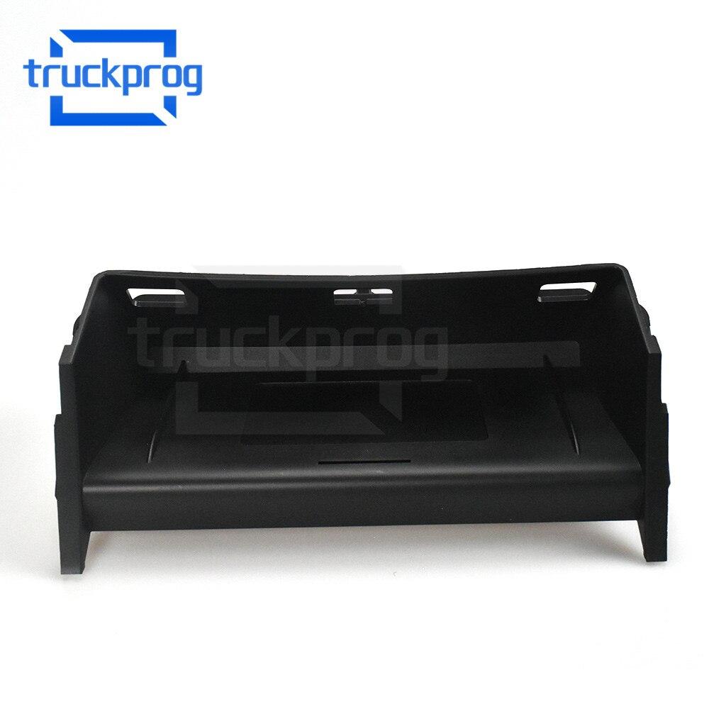 TruckProg cargador de teléfono inalámbrico para coche para MB GLS 2014-2018/Mercedes GLE 2015-2018 soporte de teléfono de caja de almacenamiento de cargador rápido