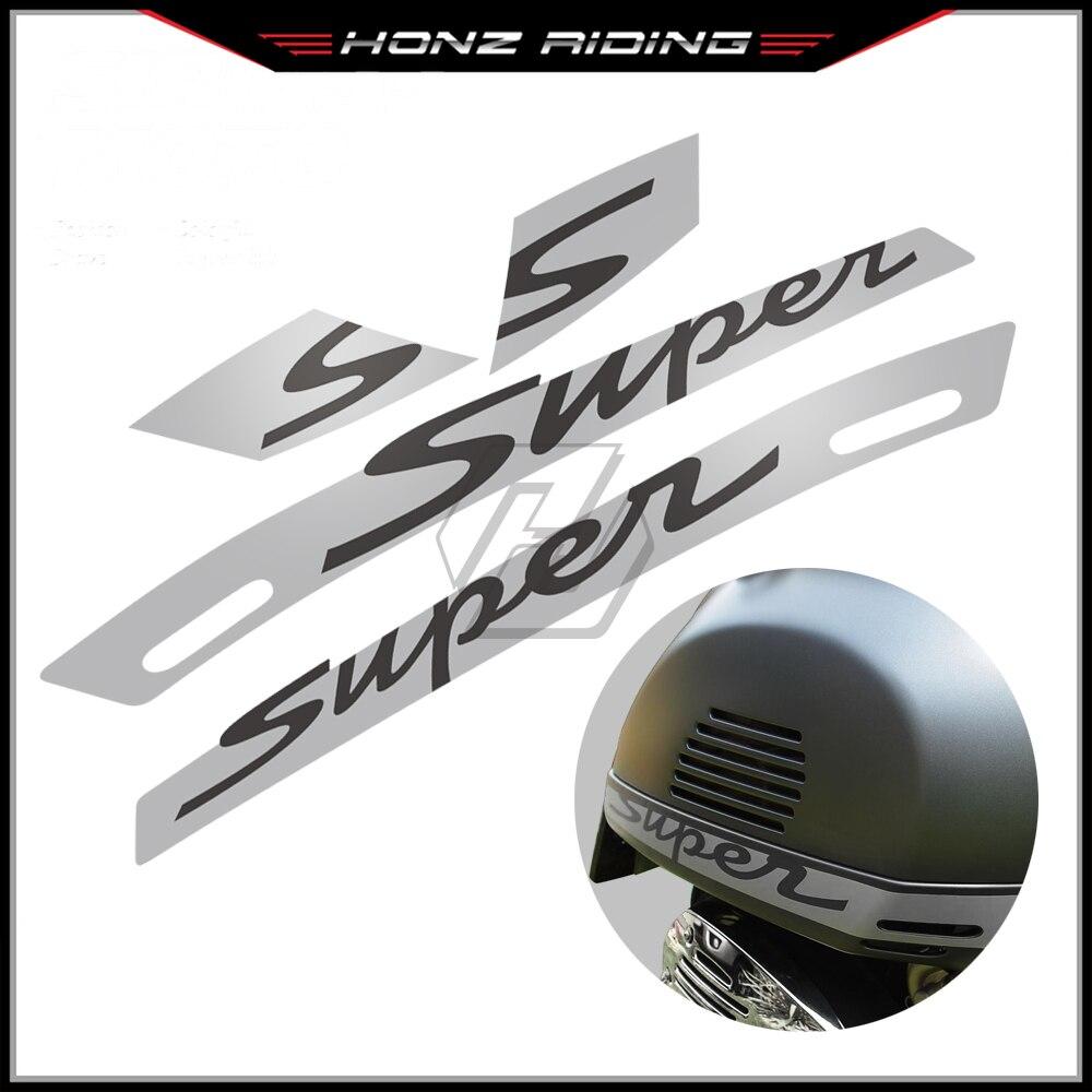 ملصق لدراجة نارية فيسبا جي تي اس 300 GTS300 سوبر سبورت