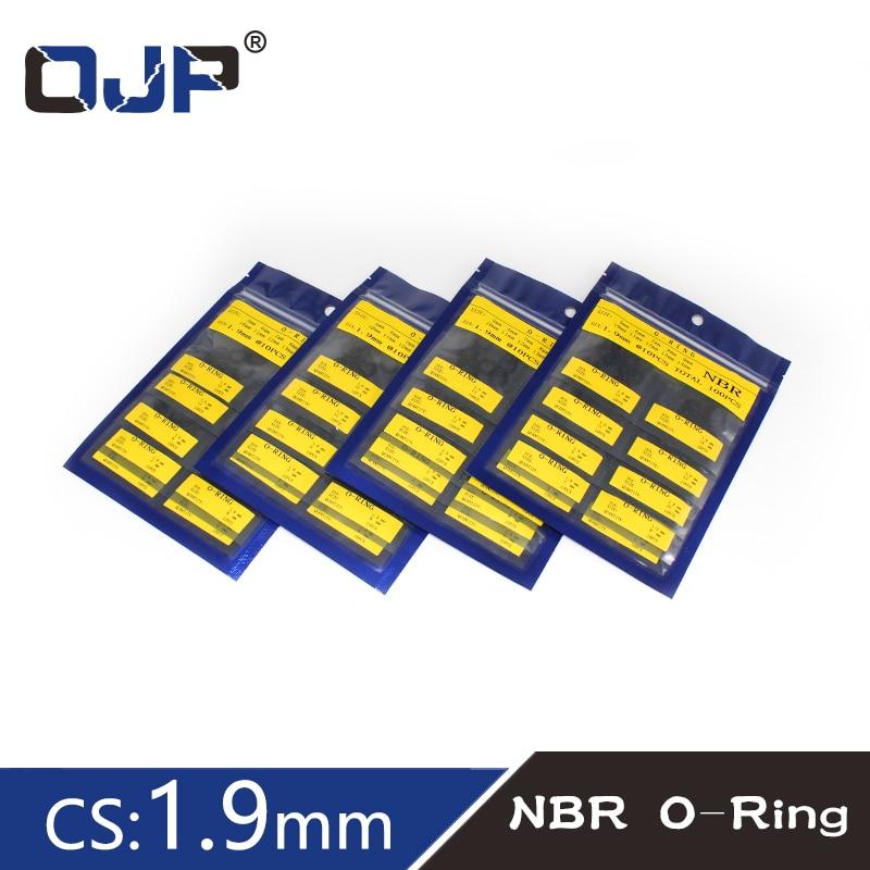 Rubber O-Ring NBR CS1.9mm OD5/6/7/8/9/10/11/12/13/14/15/16/17/18/19/20/21/22/23/24/25/26/27/28/29/30/31/32/33/34/35/36/38/40mm