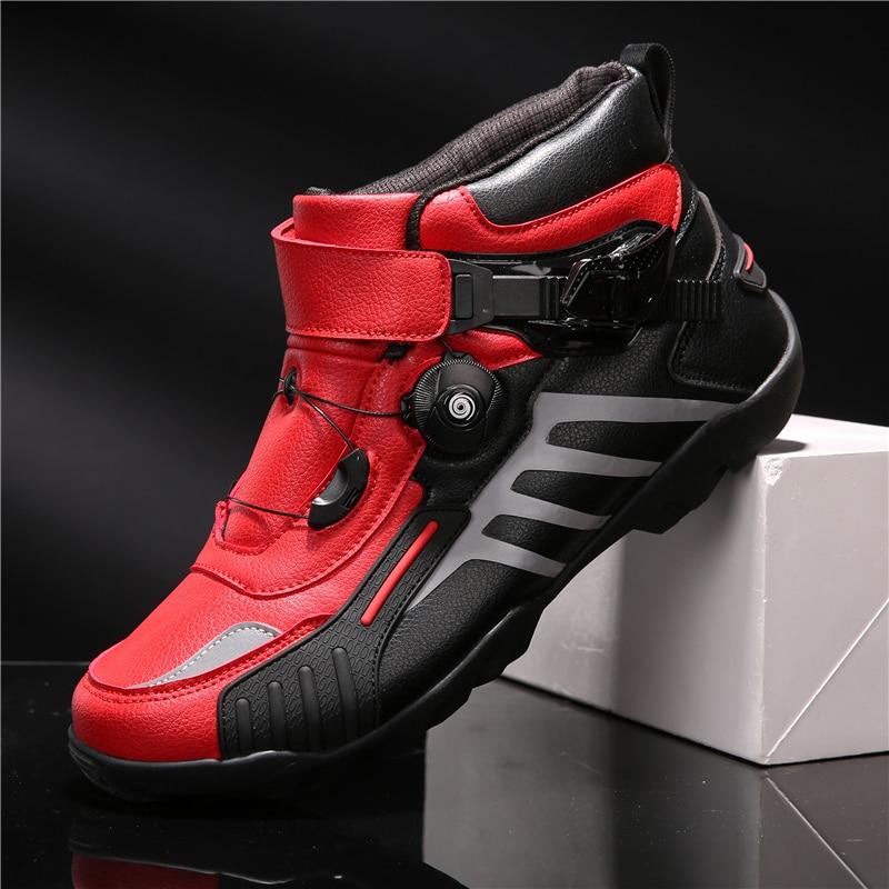 Zapatos De Ciclismo antideslizantes para hombre, botas transpirables De alta calidad para...