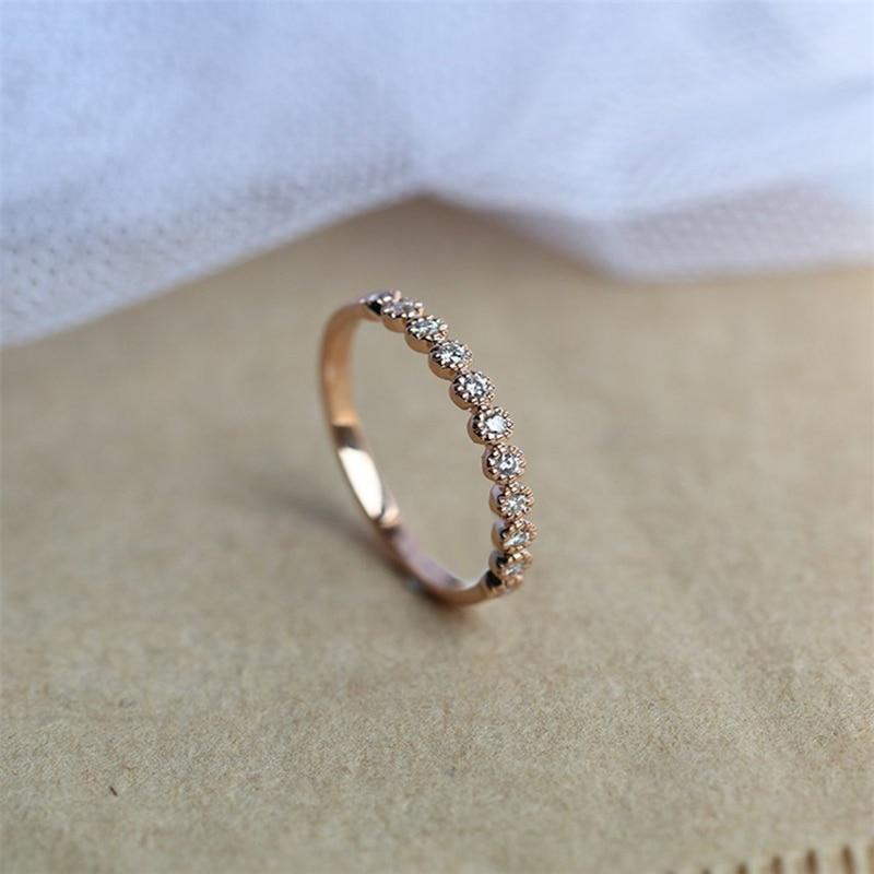 14K золото 2 карата VVS1 бриллиантовое кольцо для женщин роскошный Anillos драгоценный камень не синтетический Bizuteria 14K золото круглое свадебное кольцо с бриллиантом gümüş серебряные украшения серебро 925 gümüş