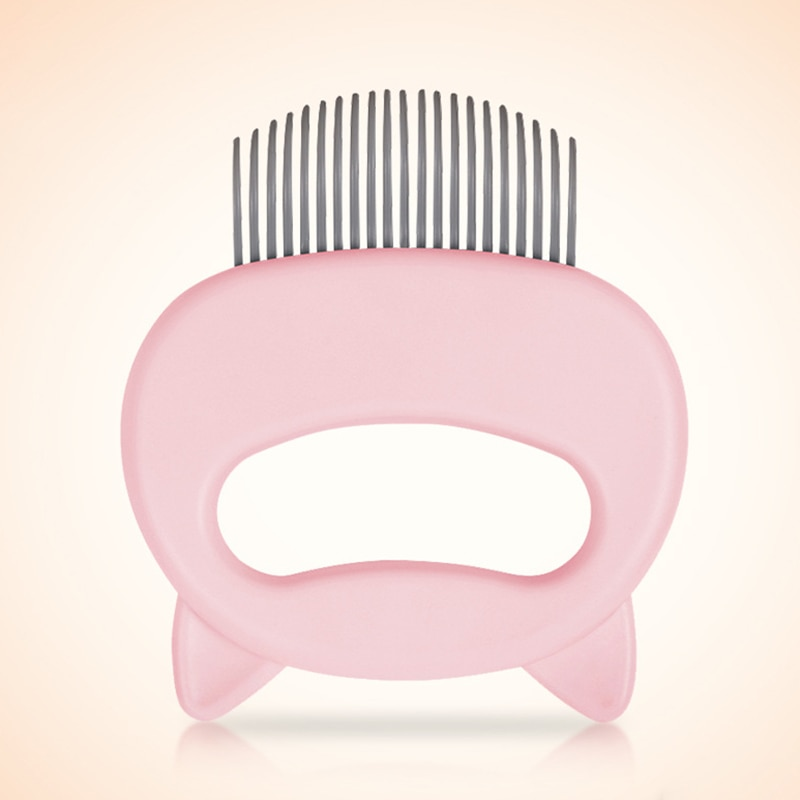 Pet Cat Dog Massage Comb Shell Grooming Hair Removal Shedding Cleaning Brush Multifunction Supplies