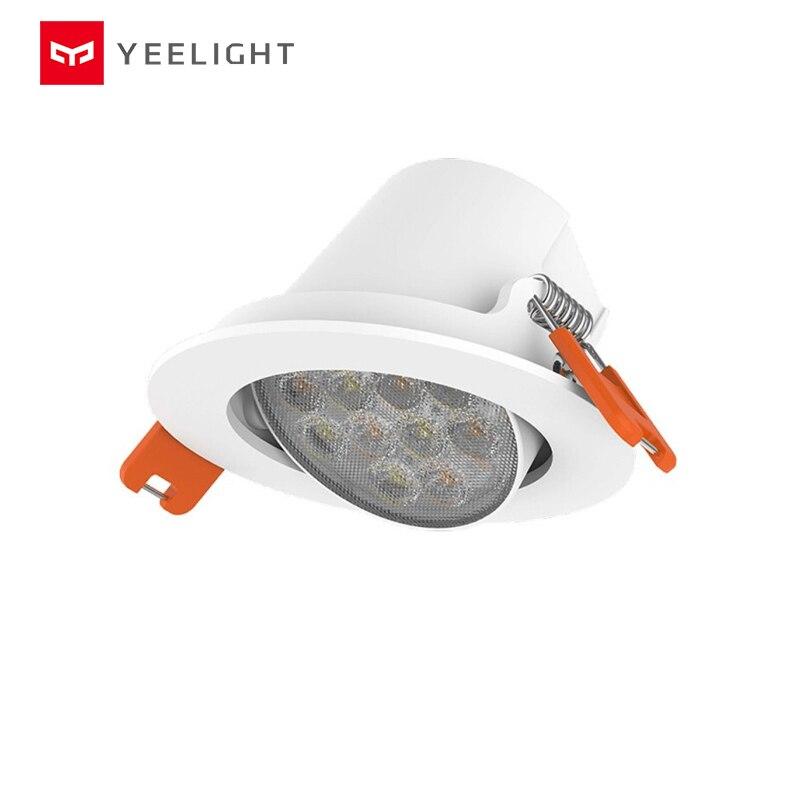 Proyector LED inteligente Yeelight, APP de Control de luz descendente de techo, edición de malla Bluetooth, YLSD04YL 220V 5W 400LM