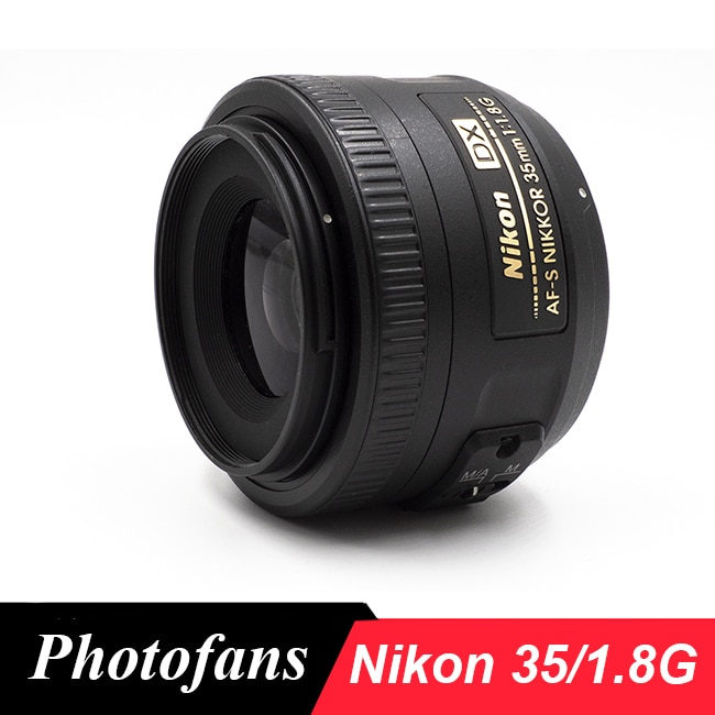 نيكون 35/1.8G عدسة AF-S 35 مللي متر f/1.8G DX عدسات الكاميرا لنيكون D3400 D3300 D3200 D5500 D5300 D5200 D5600 D7100 D7200 D7500