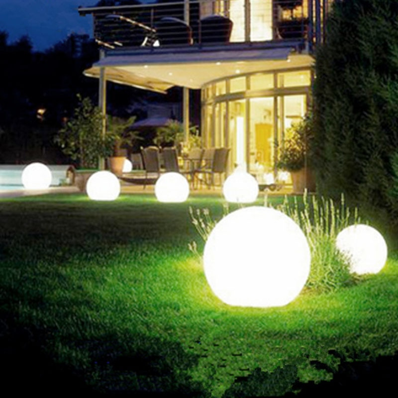 Bombilla Solar Led, lámpara alimentada por energía, luz impermeable para jardín al aire libre, Panel Solar de calle, luces de bola, jardín decorativo