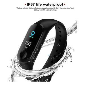 Fitness Bracelet earable Waterproof Bluetooth Smart Band Watch Bracelet Wristband Color Screen Fitness Tracker Blood Pressure