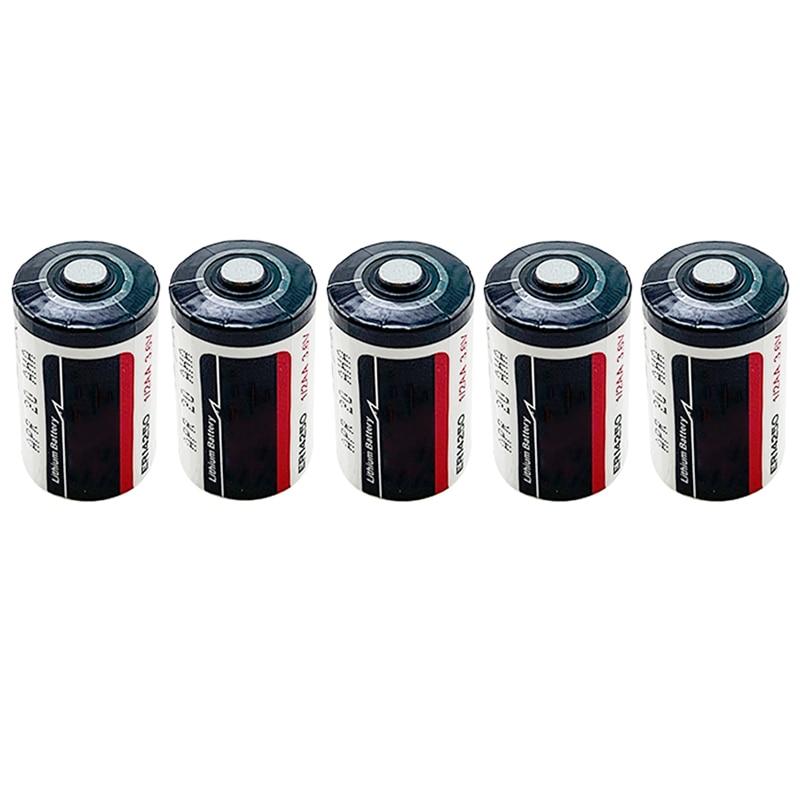 Utilitário de Medição de Memória Sistema de Rastreamento Bateria de Lítio para Véspera Pces Backup Bateria Ls14250 Xl-050f 1 – 2aa 3.6v 5 Er1425o