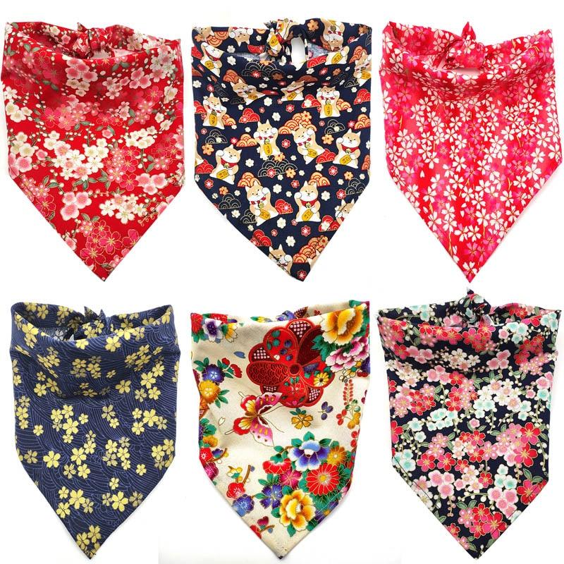 30-pcs-puppy-accessories-japanese-style-dogs-pet-bandanas-dog-collar-bandana-pet-supplies-dog-triangular-bandana-pet-accessories