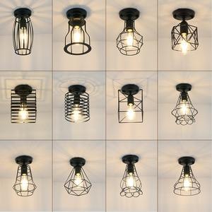 Acylic Ceiling Lights Square Rings For Living Room Bedroom Home AC85-265V Modern Led Ceiling Lamp Fixtures lustre plafonnier