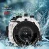 Boîtier étanche 130ft/40m pour caméra sous-marine étui de plongée pour objectif Sony A9 28-70mm 90mm ou 16-35mm avec dôme