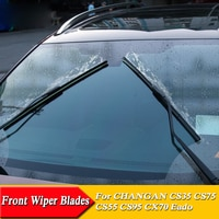 Car Windshield Wiper Blades Car Styling U Frameless Bracketless Rubber For CHANGAN CX70 CS35 CS55 CS95 Eado XT DT ET CS15