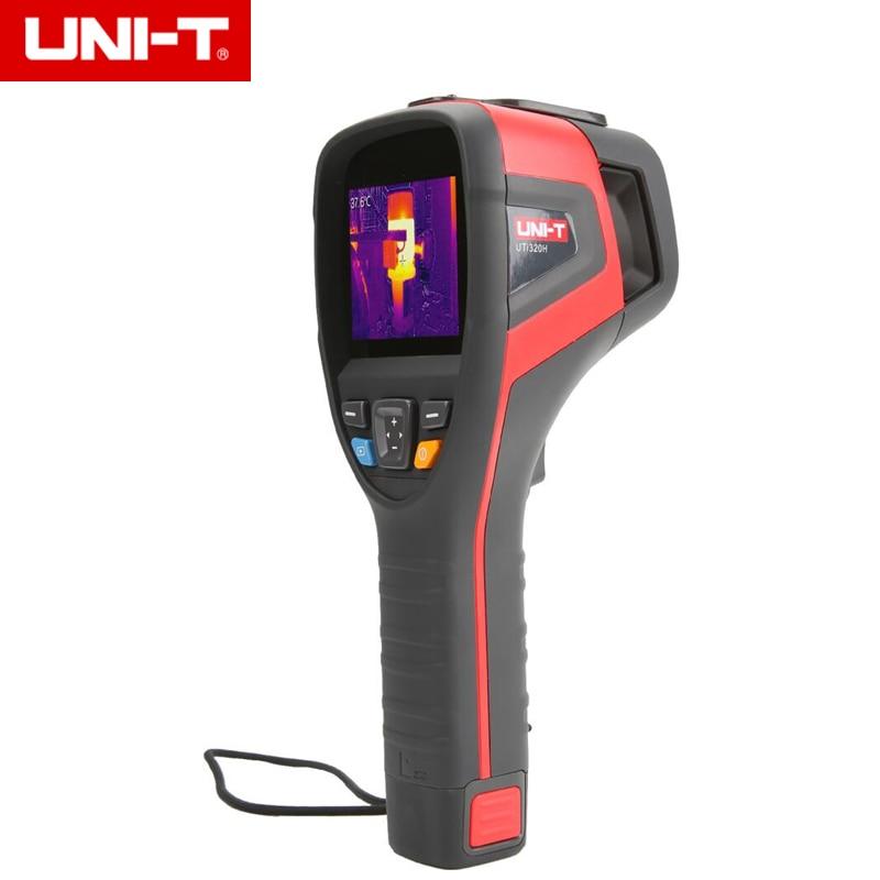 UNI-T UTi320V/UTi320H Thermal Imager Industrial Imaging Temperature Detector USB/APP Communication 3.5'' TFT Screen
