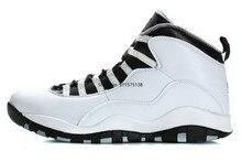 Baskets Air Jordan 10 pour homme, chaussures de Sport originales, poudre venin furtif acier, 2021