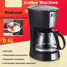 MD-208A 0.6L isolation automatique café Machine goutte à goutte cafetière thé expresso Latte cafetière maison bureau café Machine