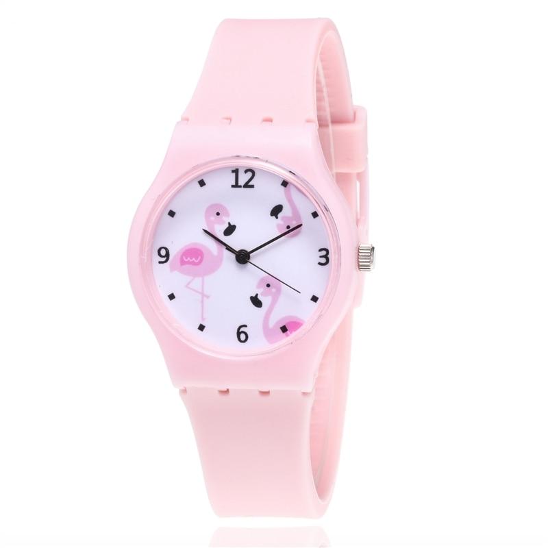 Kids Watches Girls 2019 New Relojes Children Watch Princess Watches Fashion Kids Cute Rubber Student Quartz Watch Gifts