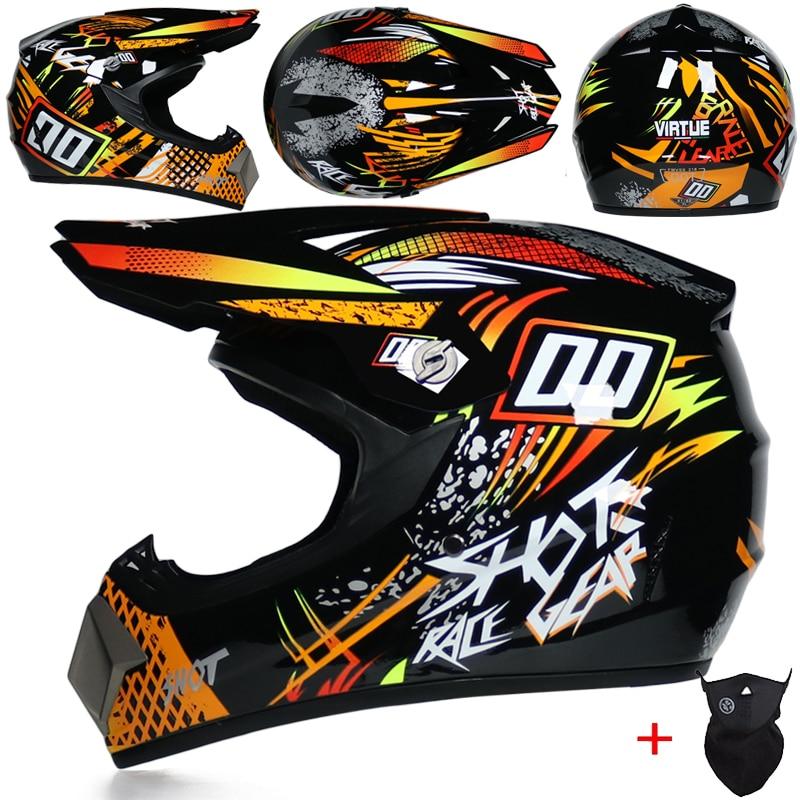 Casco protector para Motocross todoterreno, para hombre, ATV, Dirt Bike, Downhill, DH,...