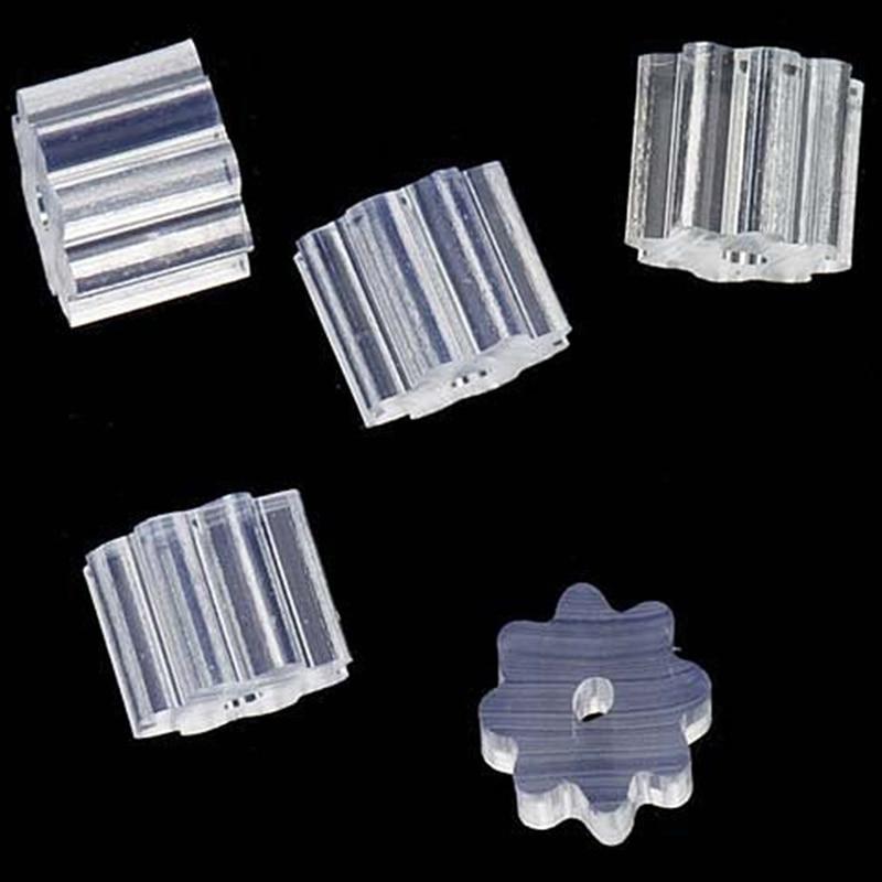50 stücke Kleine Transparente Gummi sternanis Ohrring Backs Sicherheit Ohrring Stopper Earnut Haken Ohrring Frauen Schmuck Zubehör