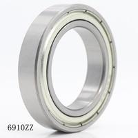 6910ZZ Bearing ABEC-1 5PCS 50x72x12 mm Metric Thin Section 6910 ZZ Ball Bearings 6910Z 61910 Z
