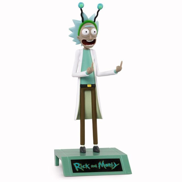 Hot Anime Figure Rick Morty Collection Action Figure Toys Grandpa Rick Room Decoration Gifts for Kids Children Toys 8
