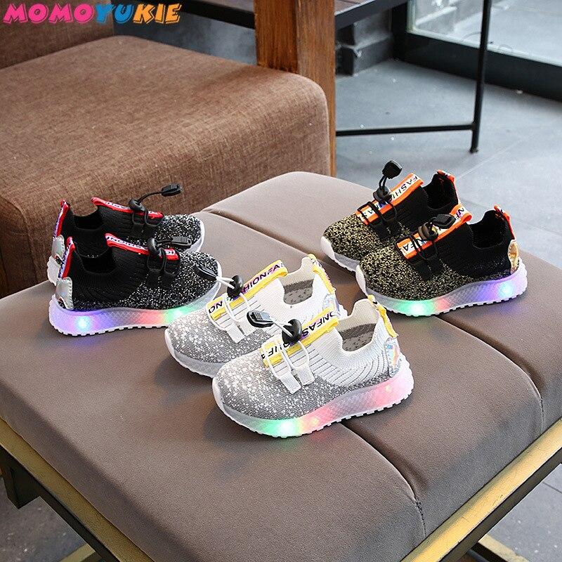 Kid Running Sneakers Summer Children Sport Shoes Tenis Infantil Boy Basket Footwear Lightweight Brea