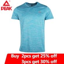 PEAK hommes entraînement T-Shirts séchage rapide à manches courtes en plein air sous-vêtements de sport t-shirt respirant maille course musculation chemise homme