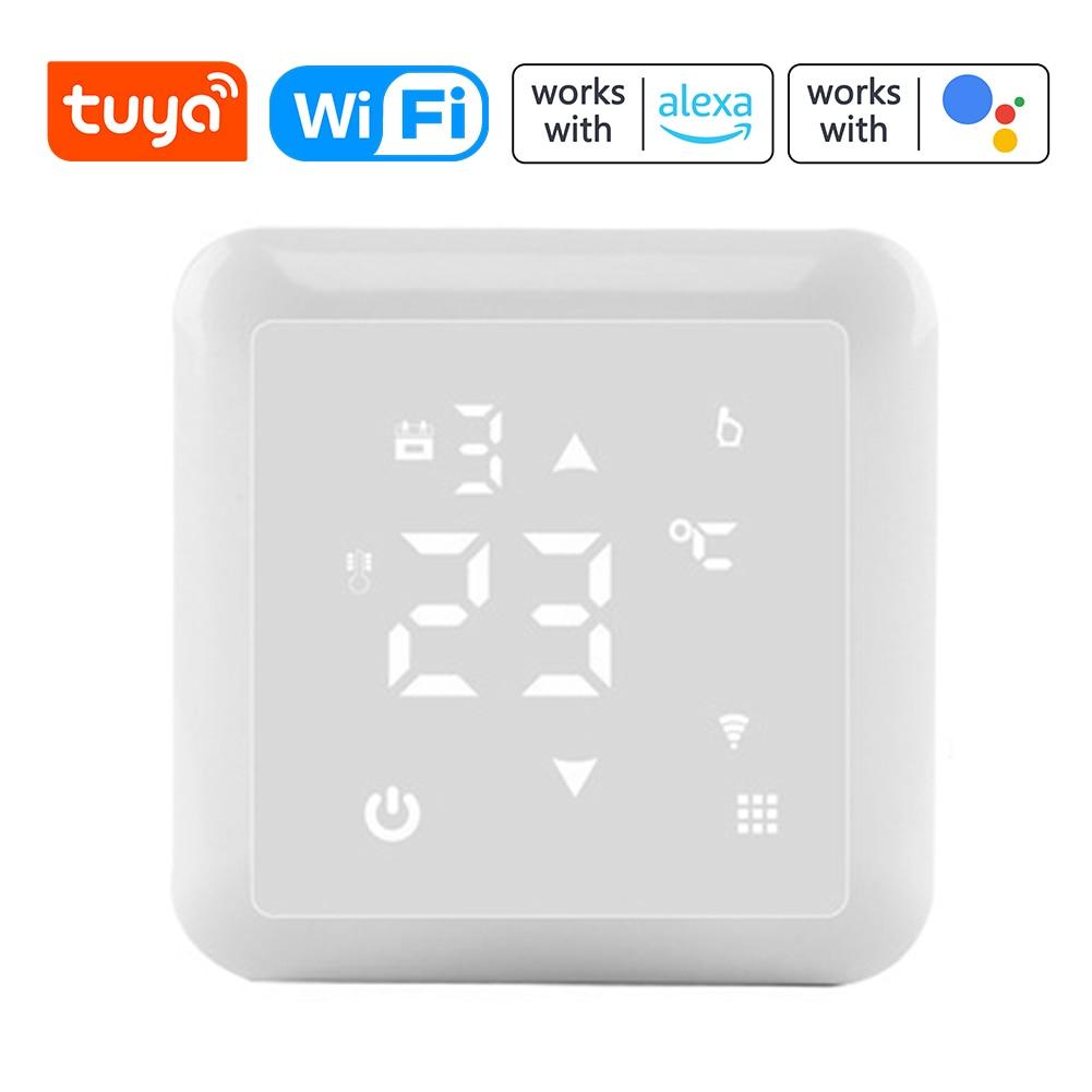 Tuya واي فاي HY517 شاشة ديجيتال ذكي متحكم في درجة الحرارة متعددة الوظائف غلاية كهربائية الكلمة ترموستات