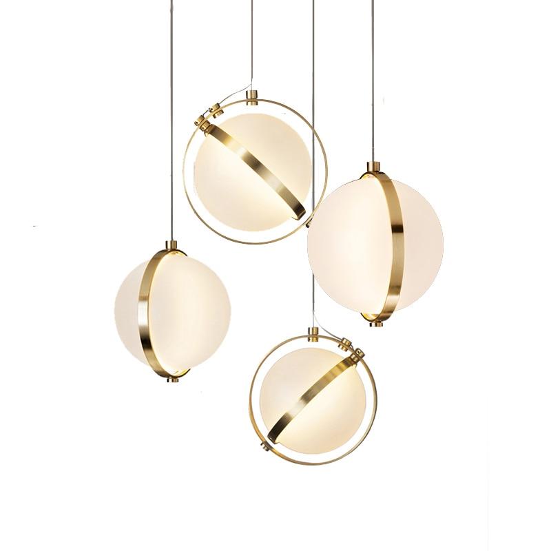 Luces con palo nórdicas de lámpara de cristal cromada de lámpara colgante...