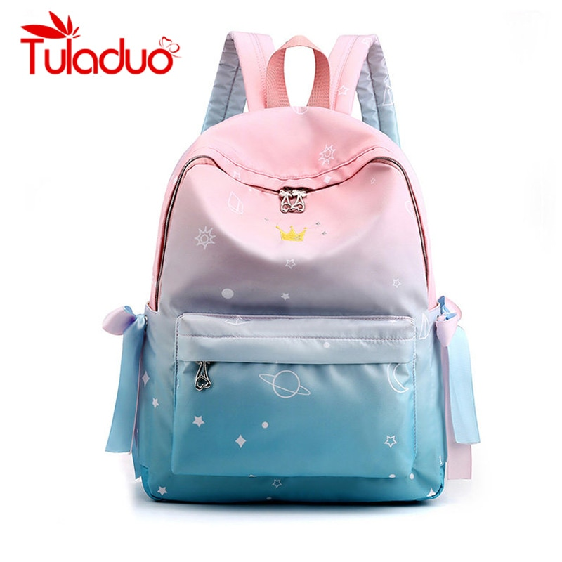 Leinwand Casual Schule Taschen Für Teenager Mädchen Student Kawaii Rucksack Mädchen Schul Frauen Mochila Feminina Bagpack Tasche Pack