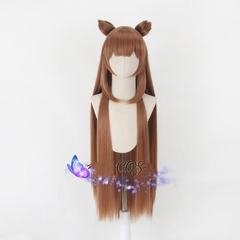 Tate no Yuusha no Nariagari Raphtalia Cosplay pelucas 100cm largo resistente al calor pelo sintético Perucas Cosplay peluca