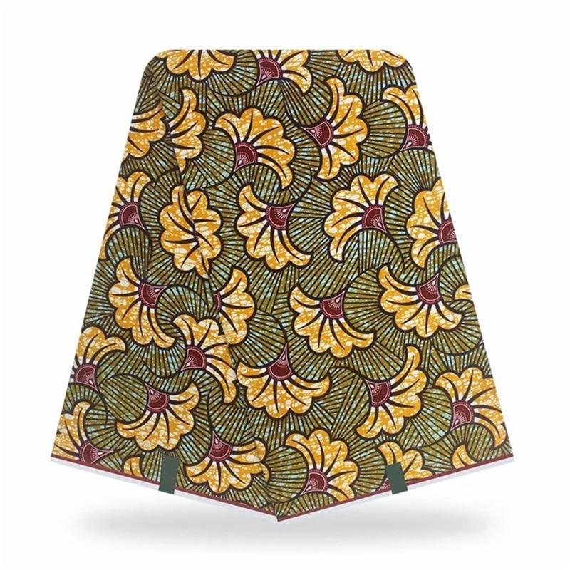 Tecido de Impressão Africano para Faça Africano Algodão Original Real Cera Ancara Você Mesmo Costura Tecido Vl-89 100%