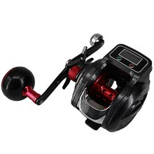 NEW 16+1 Ball Bearing 6.3:1 Left/Right Baitcasting Fishing Reel with Digital Display Bait Casting Wheel
