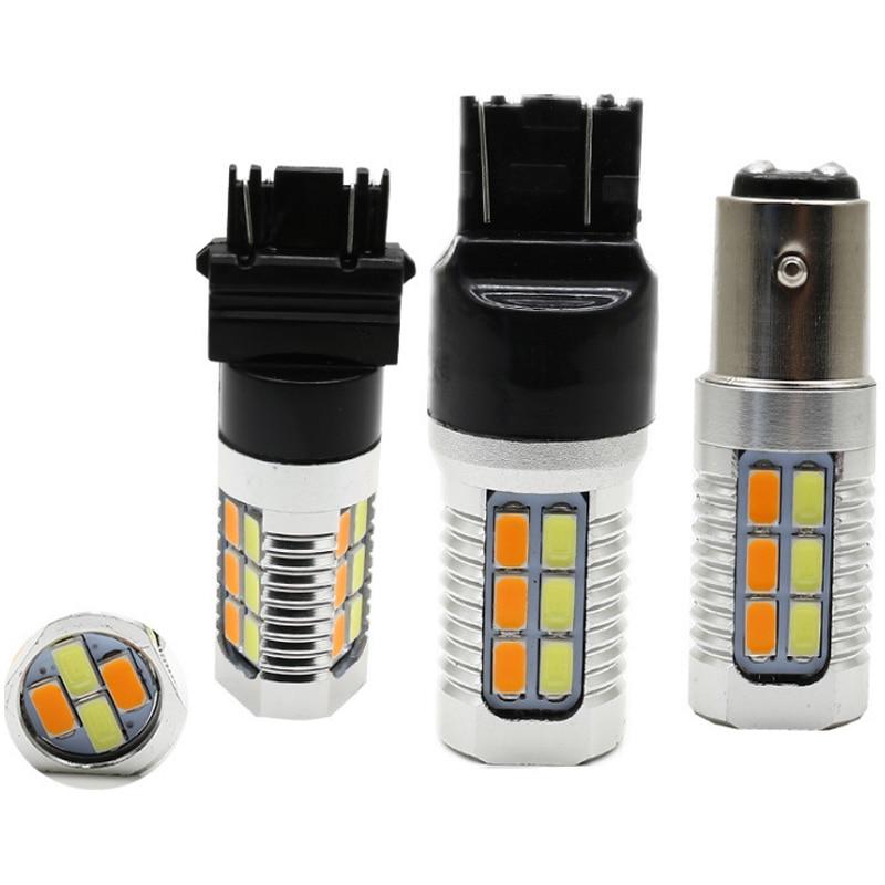 22 SMD T20 7443 T25 3157 светодиодный двойной переключатель 5630 светодиодный стоп-сигнал для сигнала поворота Стоп-сигнал заднего хода DRL огни заднего хода парковочный свет
