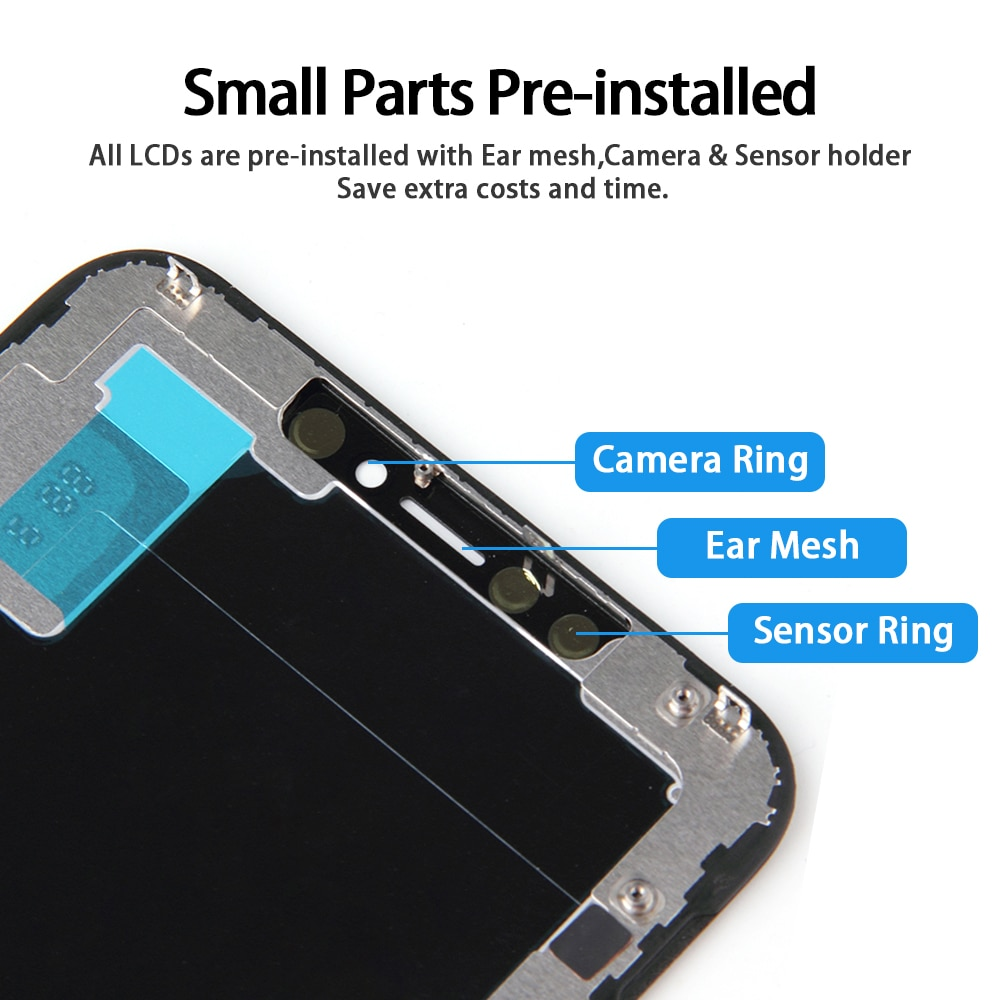 AAA +++ Incell Screen For iPhone 11 Pro Max LCD Display With 3D Touch Screen Replacement Digitizer Assembly Perfect phone repair enlarge