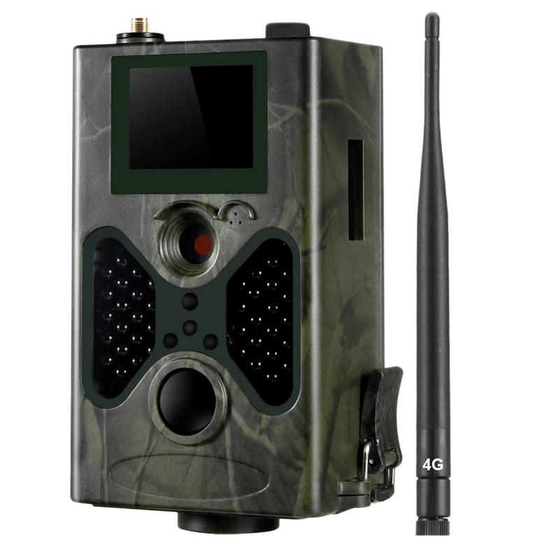Cámara de rastreo Hc330Lte 4G, cámara de caza de 16MP, 1080P, Smtp Sms, cámaras infrarrojas, juego Ir salvaje, cámaras de rastreo, trampa de fotos