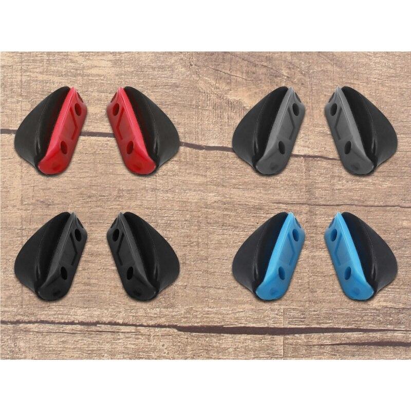 Almohadillas nasales de repuesto de silicona de Base dura Vonxyz para-Oakley Si tubo de impacto OO9329 Varities de Marco