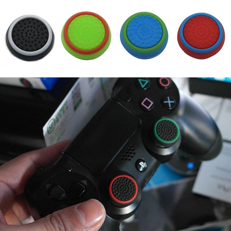 Геймпады для PS3 ONE 360, светящийся джойстик, клавишный колпачок, светящаяся голова гриба, двухцветная ручка, Силиконовый колпачок, игровой наб...