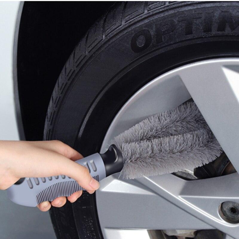 Rueda de coche de limpieza especial gris cepillo para Peugeot 307, 308, 407, 206, 207, 3008, 406, 208, 2008 508 408 de 306 a 301