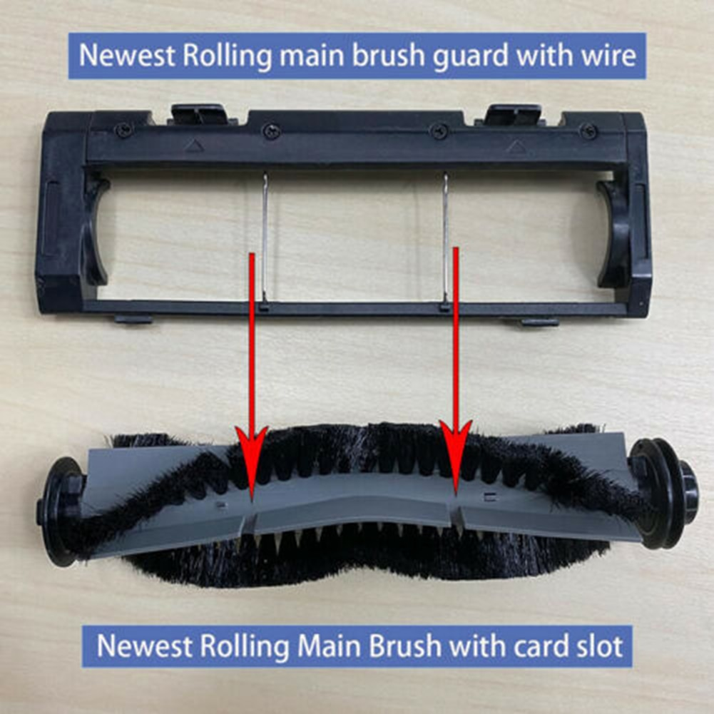 Vacuum Cleaner Main brush For Coredy R550 R500 + R650 R750 For Amarey A800 A900